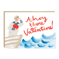 Jade Fisher 'Ahoy there Valentine!' Card